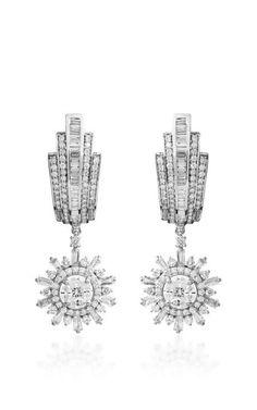 Star Burst Earring by Farah Khan Fine Jewelry for Preorder on Moda Operandi