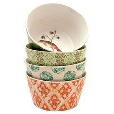 Designer nesting bowls. Great for fabulous dinners. Too bad their sold out.