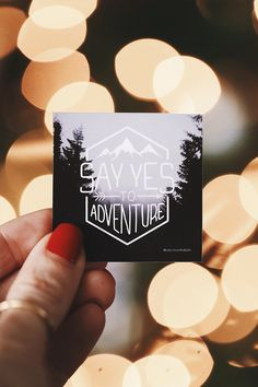 Say yes to adventure - Stickers that help rescue children from sex trafficking. Awesome!