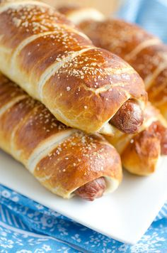 How to Make Pretzel Dogs! Recipe by Seeded at the Table