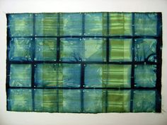 Shibori Folding - no 27; the 2nd re-clamping and 2nd bath of no 4. via And Then We Set It On Fire