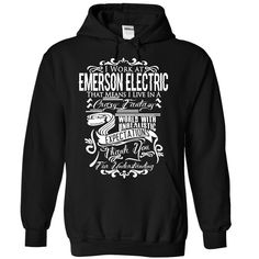 EMERSON ELECTRIC T-Shirts, Hoodies. SHOPPING NOW ==► https://www.sunfrog.com/LifeStyle/EMERSON-ELECTRIC-6149-Black-27980811-Hoodie.html?id=41382
