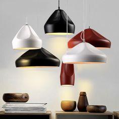 Iluminación - Luces de techo - Lámparas colgantes - Diseños de moda moderna Simple hierro forjado colgante de cerámica luz 3 1 luz