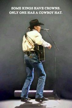 George Strait The King of country music!!!