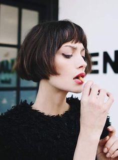 Classic Brunette Balayage - 20 Inspirational Long Choppy Bob Hairstyles - The Trending Hairstyle Trendy Haircuts, Short Bob Hairstyles, Bob Haircuts, Vintage Hairstyles, Braid Hairstyles, Teen Hairstyles, Casual Hairstyles, Trending Hairstyles, Latest Hairstyles
