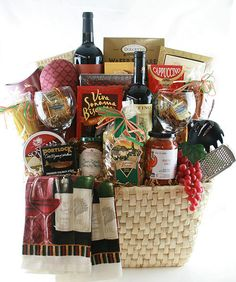 Wine and Italian Gift Basket Fundraiser Baskets, Stag And Doe, Mystery Dinner, Wine Gift Baskets, Silent Auction, Hampers, Retirement Gifts, Basket Ideas, Home Gifts