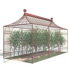 We select 9 different fruit cages that provide a made-to-measure solution to protect your fruit and vegetables.
