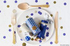 Calendrier de l'Avent Lindt*JOUR 11* Fabriquez vous-même de jolies boîtes à surprises et disposez-les sur les assiettes des invités !