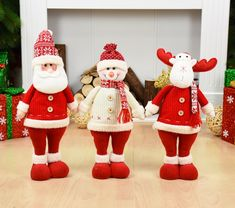 Christmas Decoration for Home Santa Claus Snowman Reindeer Doll Ornaments Pendant Xmas New Year Gift Regalos De Navidad for Home Wood Christmas Tree, Christmas Toys, Christmas Snowman, Family Christmas, Christmas Tree Decorations, Christmas Ornaments, Holiday Decor, New Year Gifts, Xmas Gifts