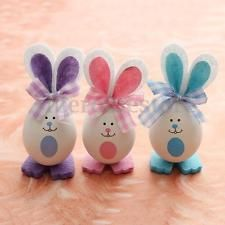 DIY Rabbit Bunny Style Crafts Easter Eggs Decoration Gifts Toys Dolls Favor Home Nursery Party Event: Easter Egg Crafts, Easter Projects, Easter Eggs, Easter Bunny Pictures, Cute Easter Bunny, Easter Flower Arrangements, Easter Flowers, Rabbit Crafts, Ideias Diy