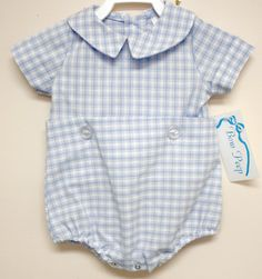 291737  Baby Boy Bubble  Baby Clothes  Baby Boy by ZuliKids, $29.50