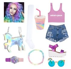 """""""unicorn"""" by nazar-erginyavuz on Polyvore featuring Spangled, Skinnydip, Accessorize and May28th"""