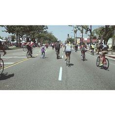 """A smooth ride. #sonya6000  #nebula4000  #pasadena #ciclavia"" Photo taken by @erniemphoto on Instagram, pinned via the InstaPin iOS App! http://www.instapinapp.com (06/03/2015)"