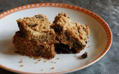 flourless peanut butter chocolate chip bars