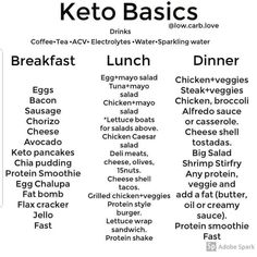 Keep it simple 👍🙌 How does your favorite keto meal look like? If you'r… Keep it simple 👍🙌 How does your favorite keto meal look like? If you're a Keto newbie… don't over think it. If you have to ask yourself… Keto Food List, Food Lists, Keto Diet Grocery List, Diet Menu, Ketogenic Diet Meal Plan, Atkins Diet, Comida Keto, Keto Pancakes, Keto Diet For Beginners
