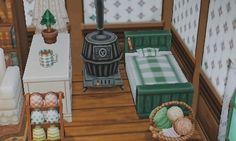 || Si vous avez encore une maison avec une seule pièce mettez un lit une place collé au mur et arranger au tour par exemple avec une commode, un poêle ou même un panier de macarons en esseyant de rester dans les mêmes tons comme ici avec du vert