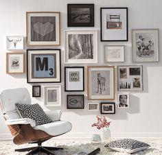 JDïseño puede decorar tus paredes: con marcos, espejos, letras a pedido, frases... O venderte los materiales para que lo hagas tú mismo.