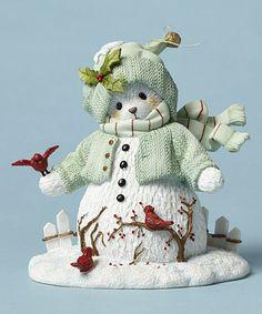 Look what I found on #zulily! Snow Bear Figurine #zulilyfinds