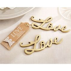 Kate Aspen Love Bottle Opener | Wayfair