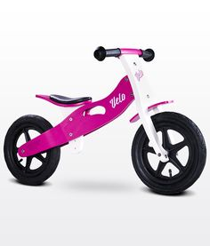 Bici de madera sin pedales Velo Toyz violeta [VELO VIOLETA] | 69,00€ : La tienda online para tu peke | tienda bebe pekebuba.com