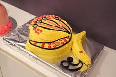 And...the butterfly cake!