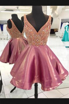 517238a669ee Homecoming Dresses, V Neck Homecoming Dresses, V-neck Homecoming Dresses, Homecoming  Dresses