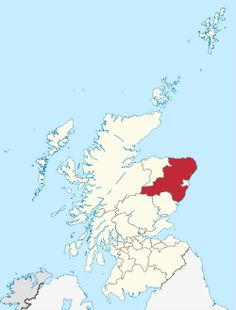 Aberdeenshire - home to the Gray Clan