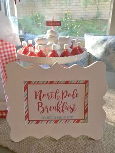 Most up-to-date Images north pole breakfast for elf on the shelf arrival santa h., up-to-date Images north pole breakfast for elf on the shelf arrival santa hats made with bananas, . Thoughts north pole breakfast for elf on th. Santa Breakfast, North Pole Breakfast, Christmas Breakfast, The Elf, Elf On The Shelf, Christmas Elf, Christmas Treats, Christmas 2019, Christmas Foods