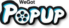 We Got Tickets pop-up cinema sub-site...