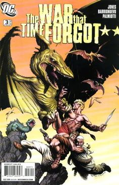 Cover for The War That Time Forgot (DC, 2008 series) #3