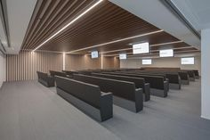 Hall Interior Design, Hall Design, Conference Room Design, Multipurpose Hall, Office Furniture Design, Small House Design, Ceiling Design, Office Interiors, Alessi