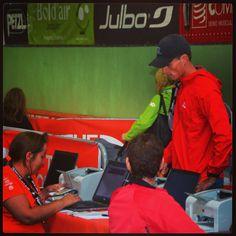 Materiaal check in Chamonix 1 dag voor de race - spanning neemt toe! #TDS #UTMB #TeamScarabee #Salomon #Julbo #Trailrunning