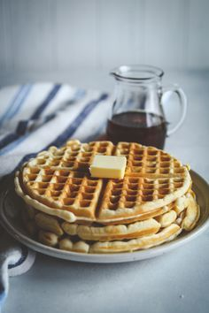 The best eggless waffles recipe, waffles without eggs, vegan waffles, crispy and fluffy waffles recipe, eggless waffles recipe Waffle Recipe Without Eggs, Eggless Waffle Recipe, Eggless Waffles, Fluffy Waffles, Banana Waffles, Eggless Baking, Pancakes, Breakfast Waffle Recipes, Pancake Recipes