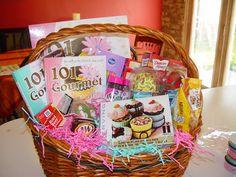 "Silent Auction Basket theme: ""Cupcake baking"" 101 Gourmet Cupcakes 2011 Calendar | Wendy Paul Creations"