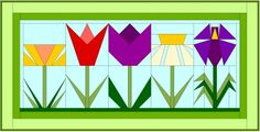 Daisy Paper Pieced Quilt Block « Preserving Home Basics Paper Pieced Quilt Patterns, Barn Quilt Patterns, Block Patterns, Patch Quilt, Quilt Blocks, Sewing Machine Quilting, Flower Quilts, Foundation Paper Piecing, Quilted Wall Hangings