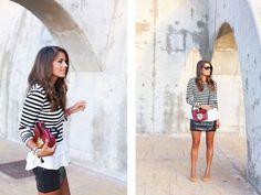 stripes & sequins (via Bloglovin.com )