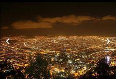 Cerro de Monserrate Bogotá.