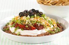 Ultimate 7-Layer Dip : FoodPinsNow