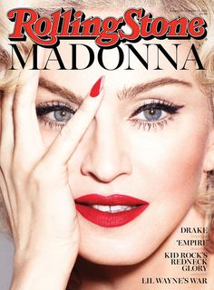 #Madonna on the cover of #RollingStone #RebelHeart