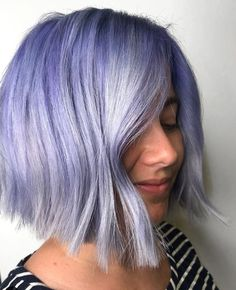 Lilac for spring: a redken formula - hair color - modern salon Pastel Hair, Purple Hair, Hair Academy, Layered Bob Hairstyles, Bright Blonde, Beautiful Hair Color, Natural Hair Styles, Long Hair Styles, Hair Color Dark