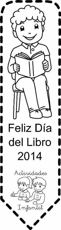 punto de libro niño2 Handicraft, Bookmarks, Coloring Pages, Teacher, Scrapbook, Children, Books, Trees, Fictional Characters