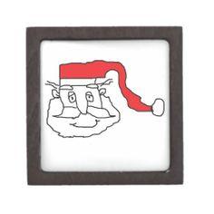 Santa Premium Trinket Box #Santa #Christmas #TrinketBox