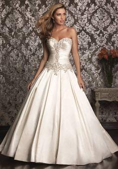 Allure Bridals 9003 Love. Available at Precious Memories Bridal in Malden, MA