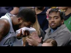Sports News - During the game Kyrie Irving got elbowed in the face by one of his teammates and had to leave the game. Sports Highlights, Kyrie Irving, Sports News, Games, Youtube, Instagram, Plays, Gaming, Game