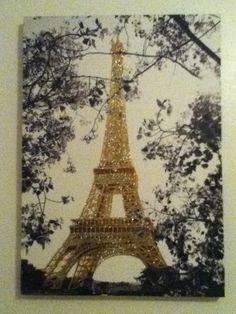 Cute Paris decor for your room!!! ❤