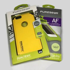 PureGear DualTek Extreme Shock Case for iPhone - Kayak Yellow Iphone 6, Iphone Cases, Pure Products, Yellow, Ebay, Iphone Case, I Phone Cases, Gold