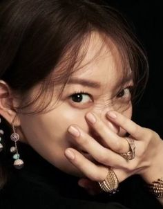 Ahead of her next drama starting, Harper's Bazaar released preliminary images of Shin Min Ah for their February cover. We can't wait to see the rest, she looks simply gorgeous. The dram… Korean Actresses, Korean Actors, Tomorrow With You Kdrama, Shin Min Ah, Oh My Venus, Korean Drama Movies, Kim Woo Bin, Korean Celebrities, Actor Model