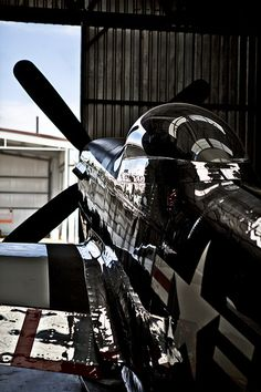 Nice shot of a cherished P-51 Mustang