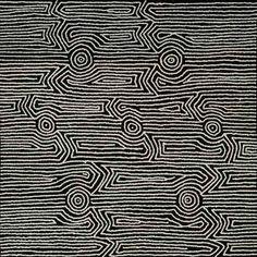Annette Ellis Napangardi - 'Kapi tjukitji' - Outstation Gallery - Aboriginal Art from Art Centres