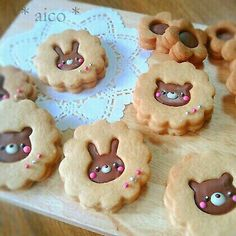 Find images and videos about cute, food and sweet on We Heart It - the app to get lost in what you love. Cupcakes, Cupcake Cakes, Cookie Recipes, Dessert Recipes, Cute Cookies, Easter Cookies, Kawaii Cookies, Sugar Cookies, Baby Cookies